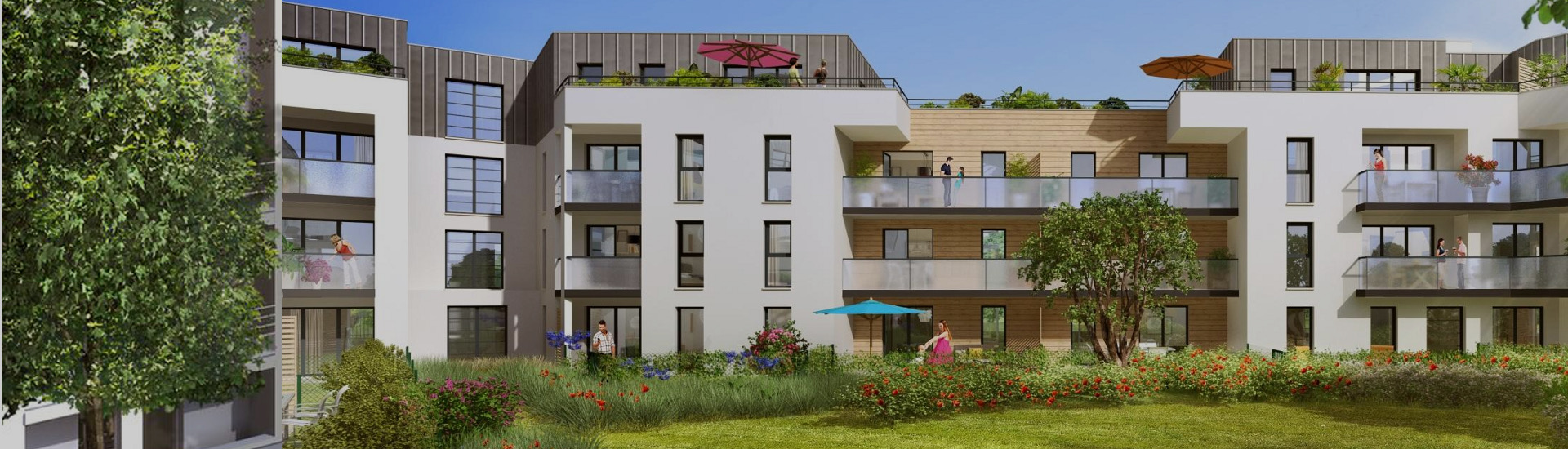 Appartement neuf Vertou Nantes Saint Sebastien
