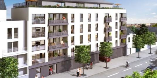 Façade immeuble neuf Nantes