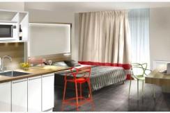 Intérieur studio meublé