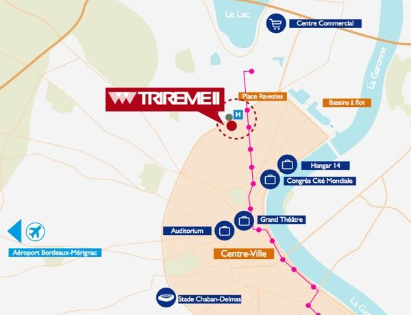 Plan Bordeaux