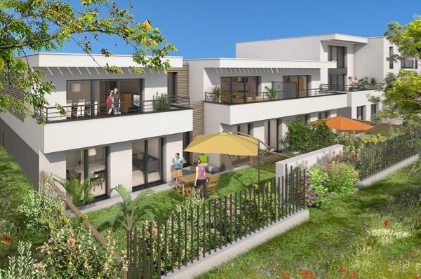 Appartement t3 neuf nantes quartier viarme talensac for Garage versailles nantes