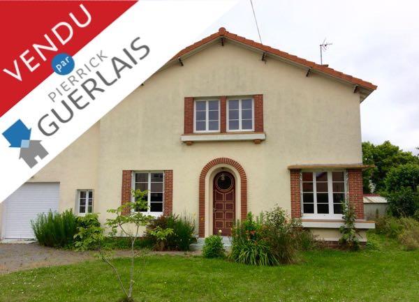 Maison à SAINT-SEBASTIEN-SUR-LOIRE, «L'Ouche Quinet» – VENDUE !