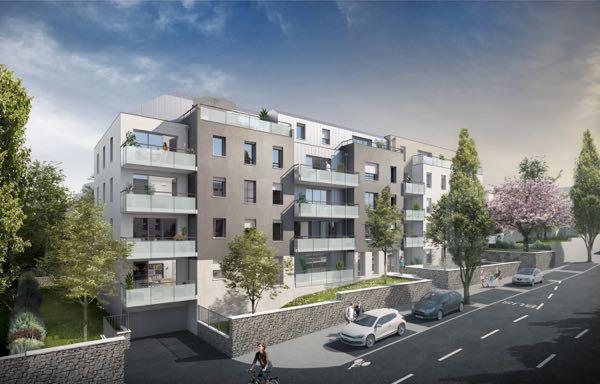 Nantes, vallée du Cens, appartements neufs à prix promoteur