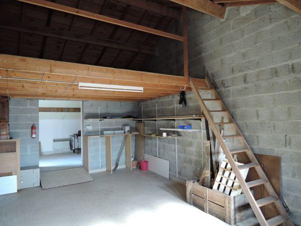 Garage et grenier