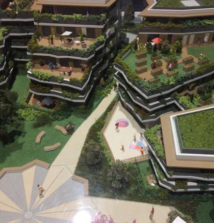 maquette résidence Cogedim