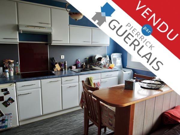Nantes, appartement vendu avec locataire en place