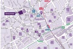 Plan centre ville nantes