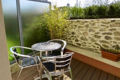 Terrasse bel appartement T3 Saint-Nazaire, Villès Martin