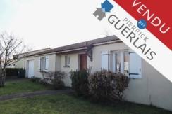 Maison vendue par Guerlais Immobilier à SAINT SEBASTIEN SUR LOIRE