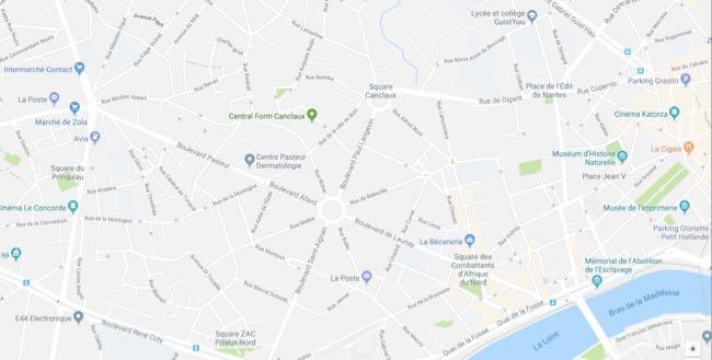 Plan Nantes Canclaux-Mellinet