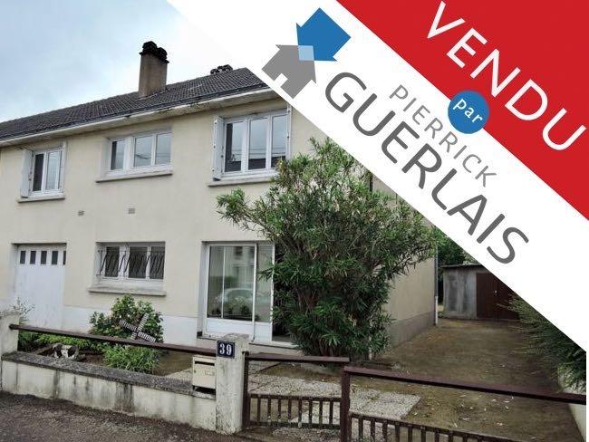 Maison 120 m2 à Nantes, quartier «Vieux Doulon»