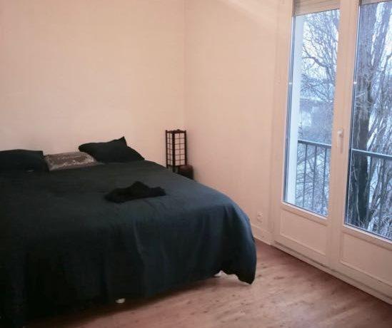 Nantes Mangin, appartement T3 avec locataire