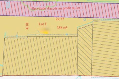 V070- Plan d'assiette maison