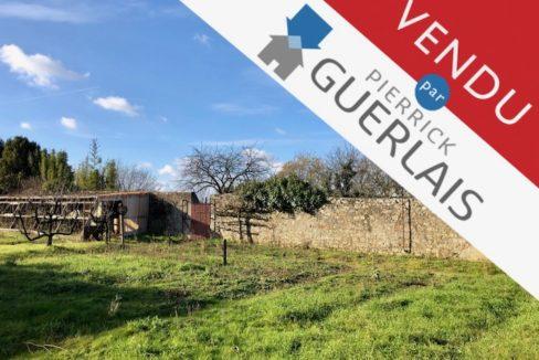 Terrain à bâtir vendu par Guerlais Immobilier