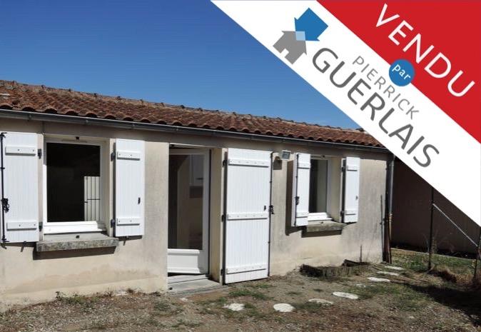 VENDUE par Guerlais Immobilier !