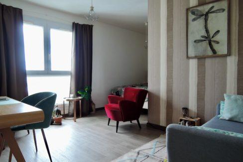 T1bis Nantes Guerlais Immobilier - Séjour