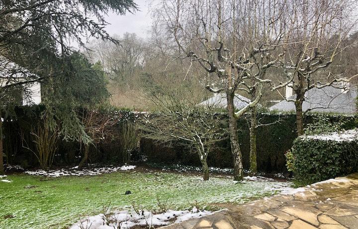 Jardin maison Vertou centre à vendre