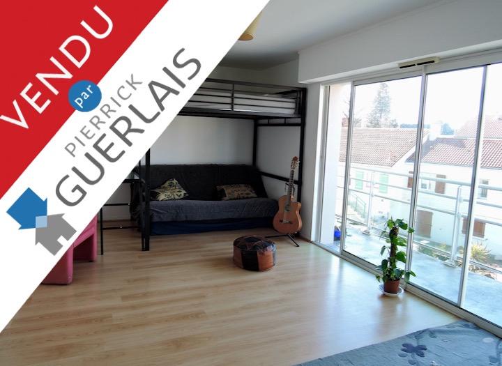 VENDU ! Appartement T1bis – SAINT-SEBASTIEN-SUR-LOIRE centre