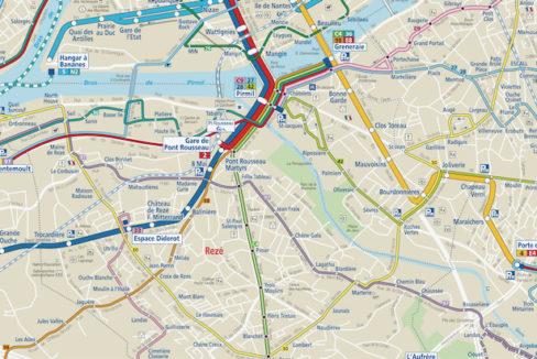 Plan TAN sud-Loire